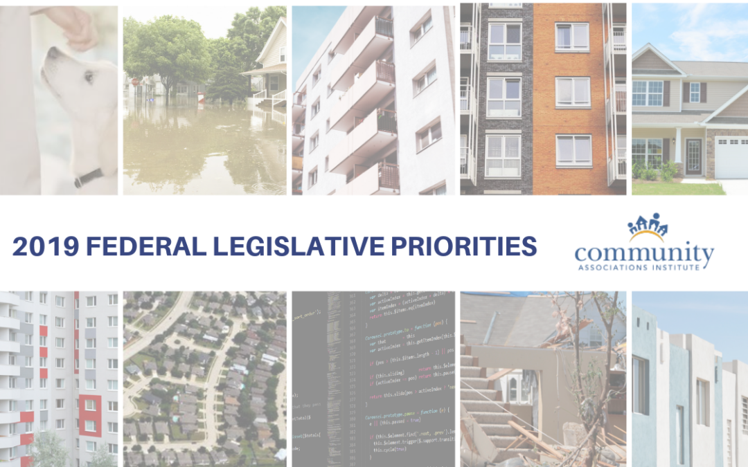 2019 Federal Legislative Priorities