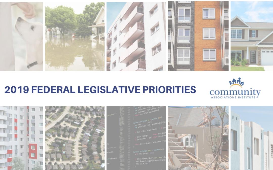 2019 Federal Legislative Priorities