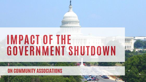 Impact of the Government Shutdown on Community Associations