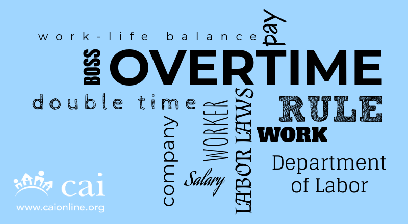 2019 Department of Labor – Proposed Overtime Rule Released for Public Comment