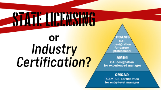 The Climate for Licensing Community Association Managers:  Sweeping Occupational Licensing Reform