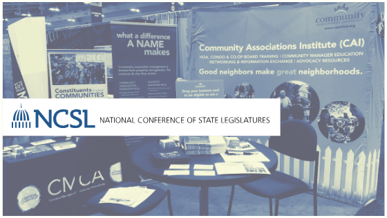 CAI Exhibiting at the National Conference of State Legislatures