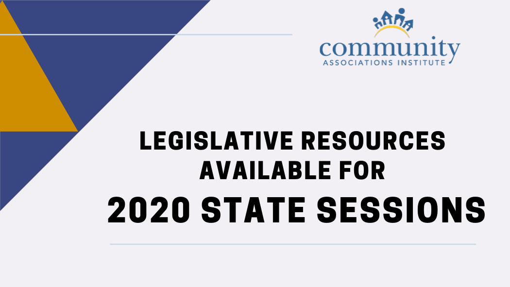 Legislative Resources Available for 2020 State Sessions