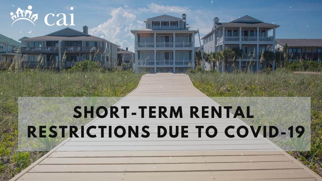 Short term rental restrictions