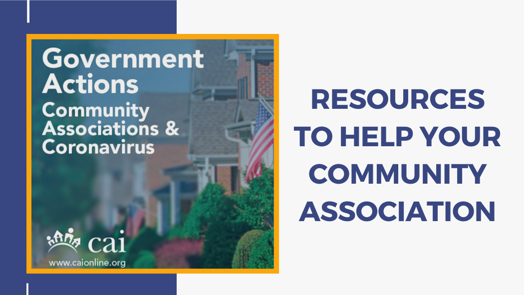 COVID-19 Resources for Community Associations