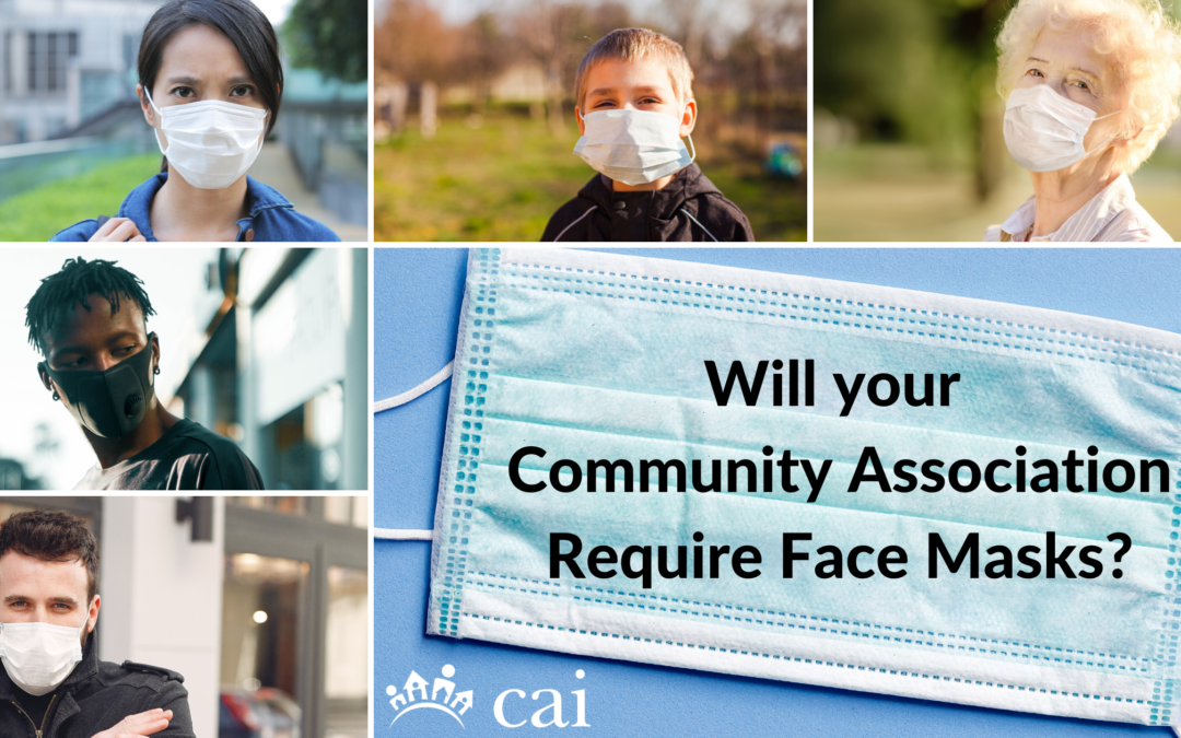 Will Your Community Association Require Face Masks