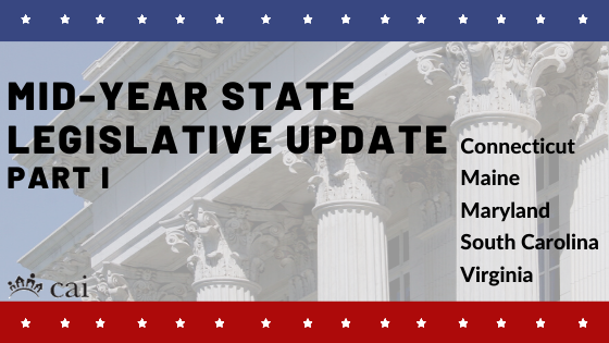 Mid-Year State Legislative Action Committee Update: Part I