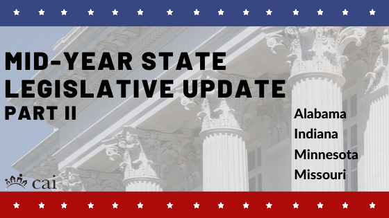 Mid-Year State Legislative Action Committee Update: Part II
