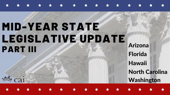 id-year Legislative update
