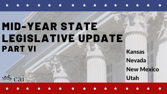 Mid-Year State Legislative Action Committee Update: Part VI
