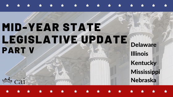 Mid-Year State Legislative Action Committee Update: Part V