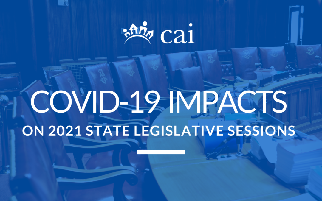 COVID-19 Impacts on 2021 State Legislative Sessions