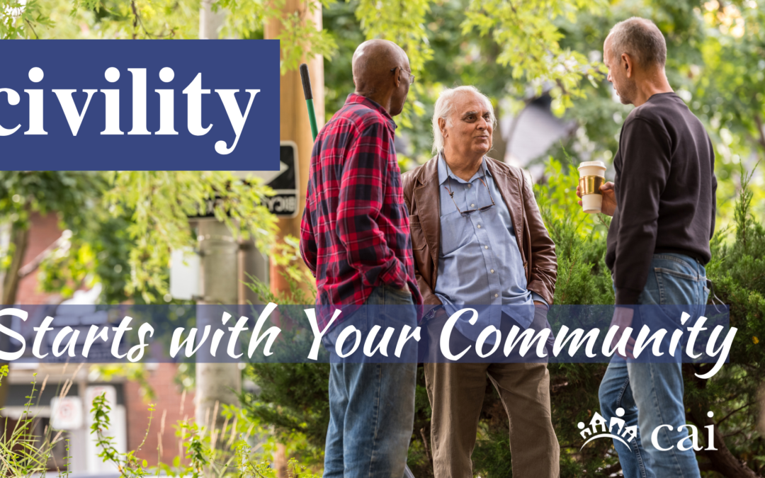 Civility Starts with Your Community