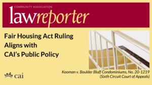 Fair Housing Act Ruling