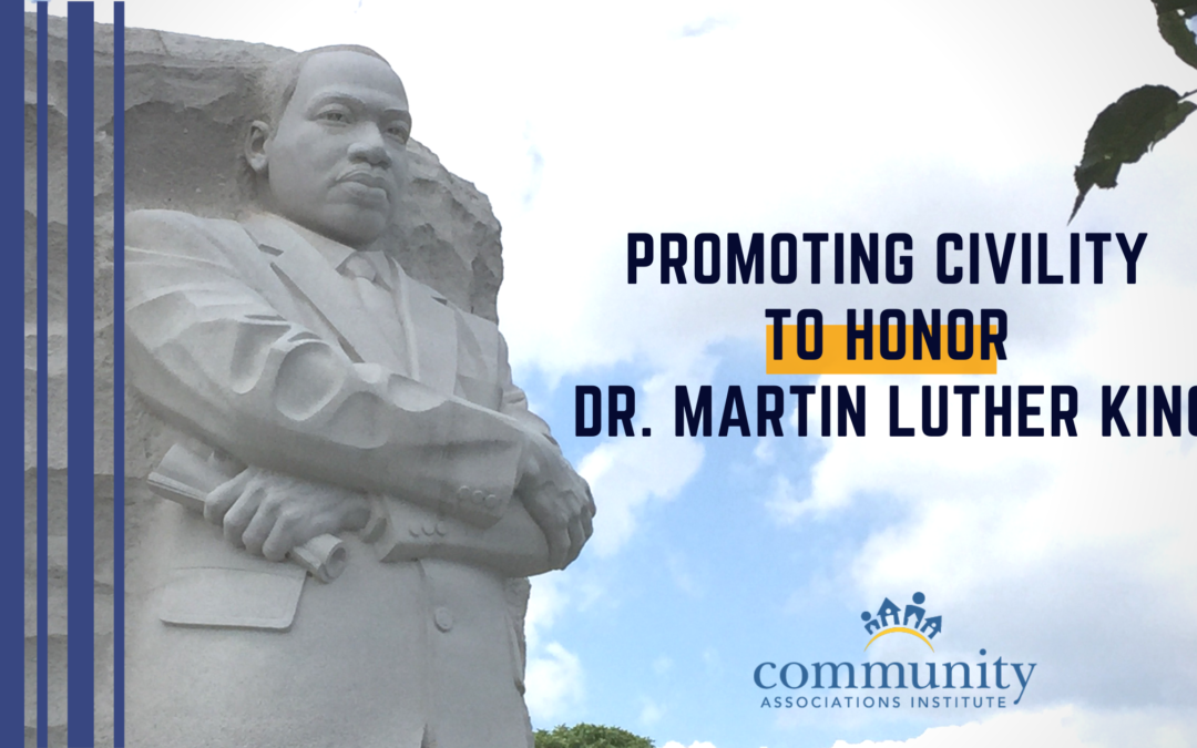 Promoting Civility to Honor Dr. Martin Luther King