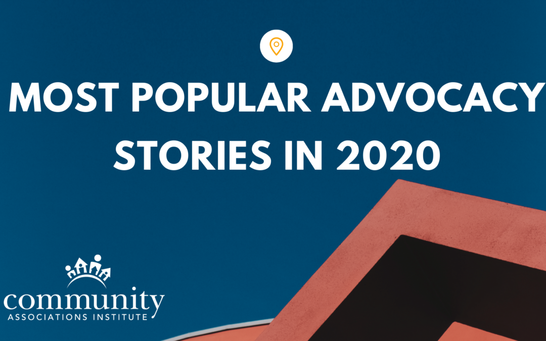 Most Popular Advocacy Stories in 2020